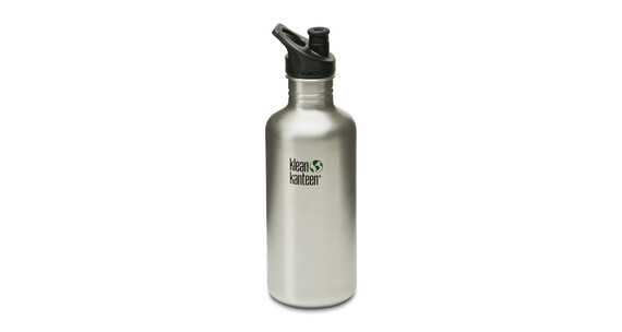 Klean Kanteen Classic Trinkflasche mit Sport Cap 1182ml brushed stainless